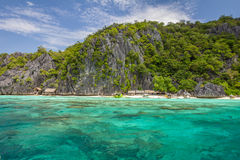 Пляж в Филиппинах Стоковые Изображения