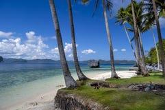 Пляж в Филиппинах Стоковая Фотография