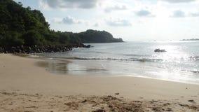 Пляж в Шри-Ланке Стоковые Изображения