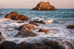 пляж в Японии Стоковые Изображения RF