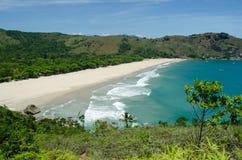 Пляж в Ilhabela, Бразилии Стоковые Изображения RF