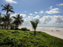 Пляж в ilheus Стоковое Фото