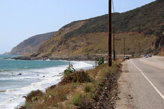 Пляж в Malibu Стоковое фото RF