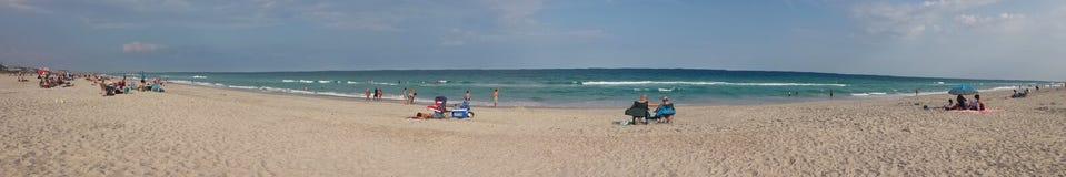 Пляж в NC Стоковые Изображения
