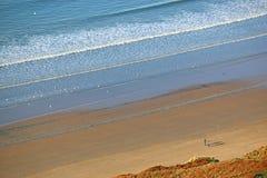 Пляж в Rodanthe Стоковые Изображения RF