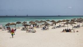 Пляж в Sousse стоковое фото