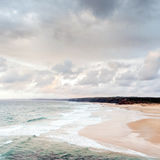 пляж Гавайские островы вулканические Стоковое фото RF