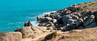 Пляж гавани Виктора Стоковое Изображение RF