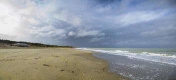 пляж Голландия Стоковая Фотография RF