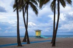 Пляж Голливуда Стоковые Фотографии RF