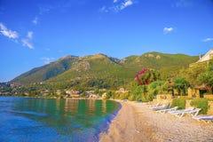 Пляж, Греция Стоковая Фотография RF