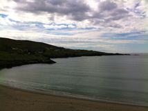 Пляж Глена на сумраке Стоковые Фото