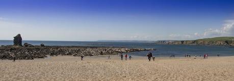 Пляж Девон Thurlestone Стоковое Изображение