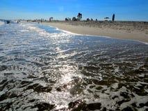 Пляж Джонса, полдень стоковые фотографии rf