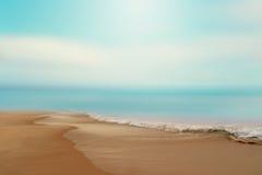 Пляж Дорсет Англия Великобритания Борнмута Стоковые Изображения RF