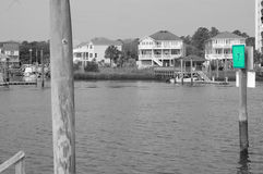 Пляж Д-р Каролины канала Стоковые Изображения