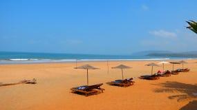 Пляж девственницы Стоковое Изображение RF