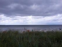 Пляж, лето 2016 Стоковое Изображение