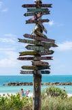 Пляж Закари Тейлор форта в Key West Стоковая Фотография