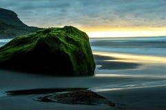 Пляж замедленного движения стоковая фотография rf