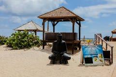 Пляж залива Востока - район Palm Beach Стоковое фото RF