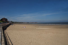 Пляж залива Colwyn Стоковое Изображение RF