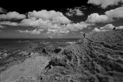 Пляж залива Milsey Стоковые Изображения