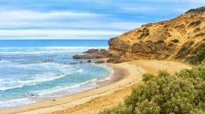 Пляж задней части Сорренто Стоковые Изображения