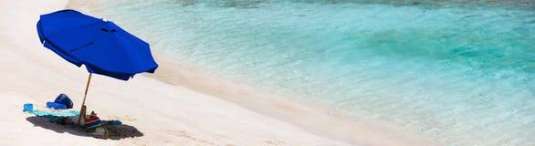 Пляж изображения совершенный на Вест-Инди Стоковые Фотографии RF