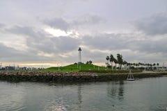 пляж длиной Стоковая Фотография