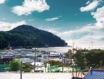 Пляж Инчхона, Сеул Корея Стоковые Фотографии RF