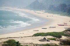 Пляж Индия Стоковое Изображение RF