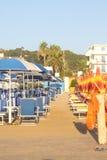 пляж Италия Стоковое Изображение RF