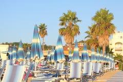 пляж Италия Стоковые Изображения