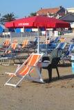 Пляж личной охраны Стоковое Изображение