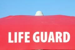Пляж личной охраны Стоковые Изображения