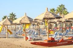 Пляж личной охраны Стоковое фото RF