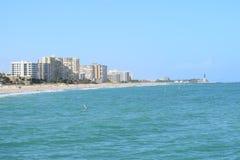 Пляж и Атлантический океан Флориды Стоковые Фотографии RF