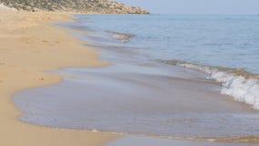 Пляж и волна песка акции видеоматериалы