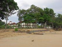 Пляж и курорт Desaru стоковое изображение rf