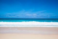 Пляж и море Стоковое Изображение RF