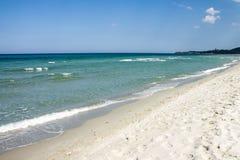 Пляж и море Стоковые Изображения