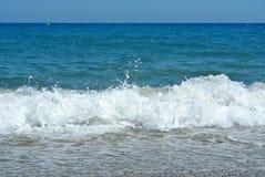 Пляж и море Стоковое фото RF