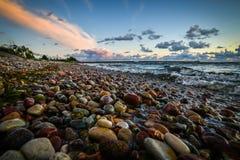 Пляж и море Стоковые Изображения RF