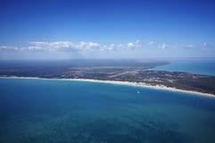Пляж кабеля Стоковое Изображение