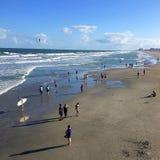 Пляж какао Стоковые Изображения RF
