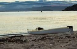 Пляж каяка Стоковая Фотография