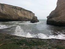 Пляж Калифорнии Стоковые Фотографии RF