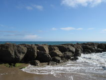 Пляж Калифорнии Стоковые Изображения RF