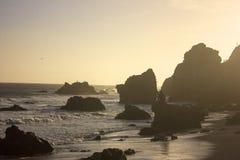 Пляж Калифорнии стоковая фотография